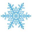 Fototapete schnee, flocke, eiskristall, kristall, eisblume, winter.