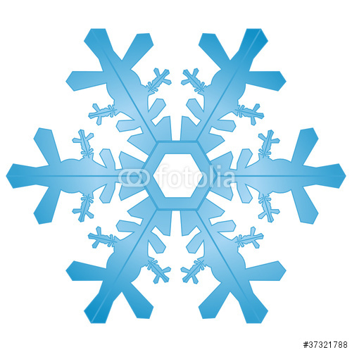 Eisblume, Eiskristall, Eis, Symbol, Zeichen, Winter, Schnee, 2D.