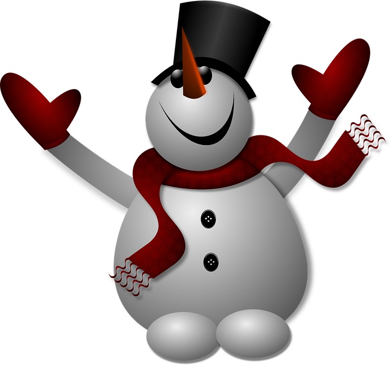 Free photo Snow Wintry Eismann Snow Man Winter White Cold.