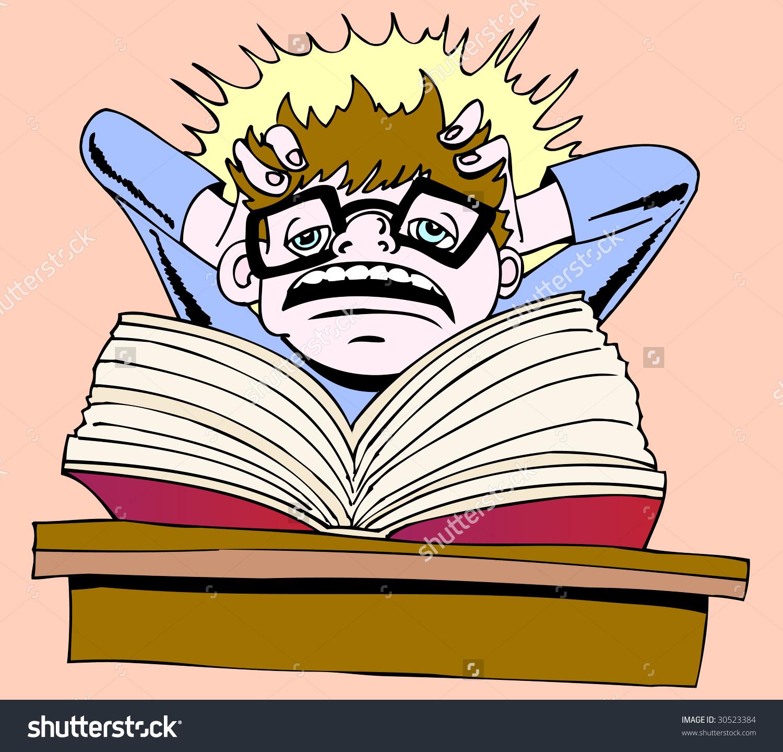 Homework burnout.