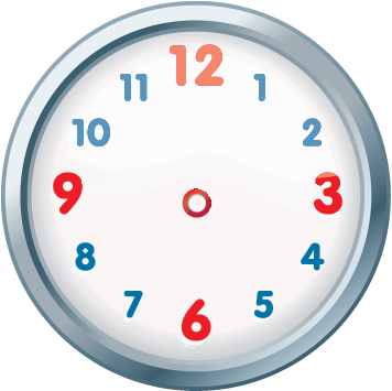 Clipart clock without hands.