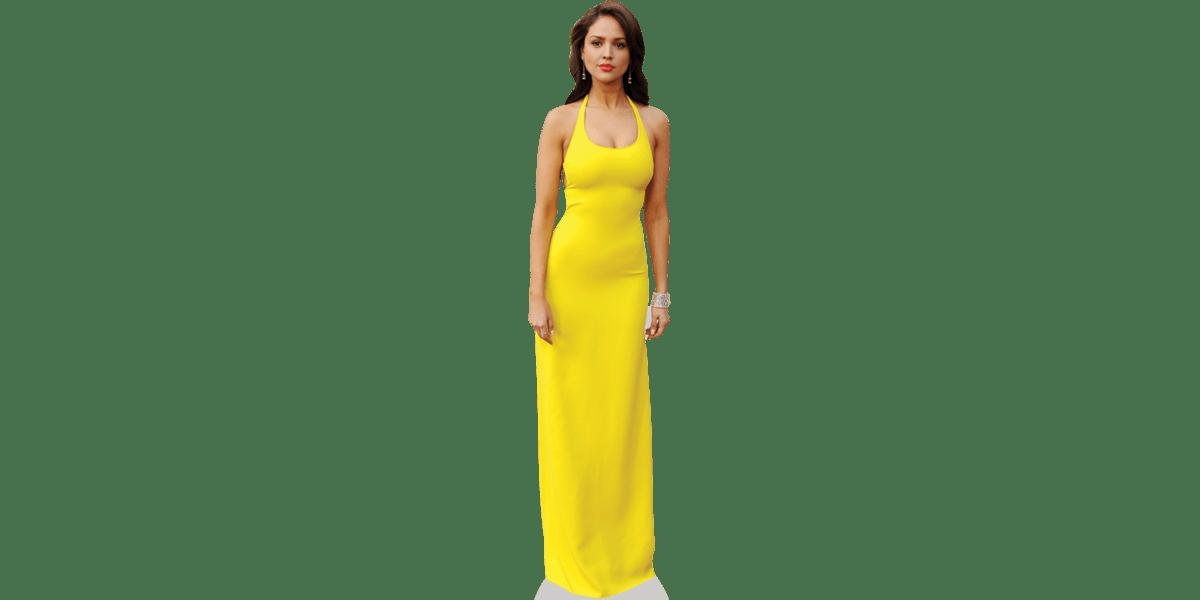 Eiza Gonzalez (Yellow) Cardboard Cutout.