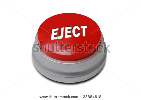 Red Eject Button.