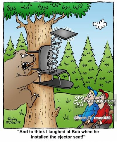 Ejector Seats Cartoons and Comics.