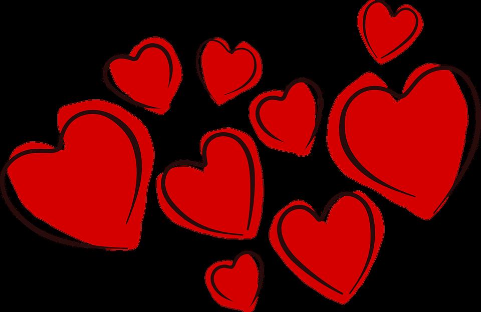 Corazones San Valentín El Amor.