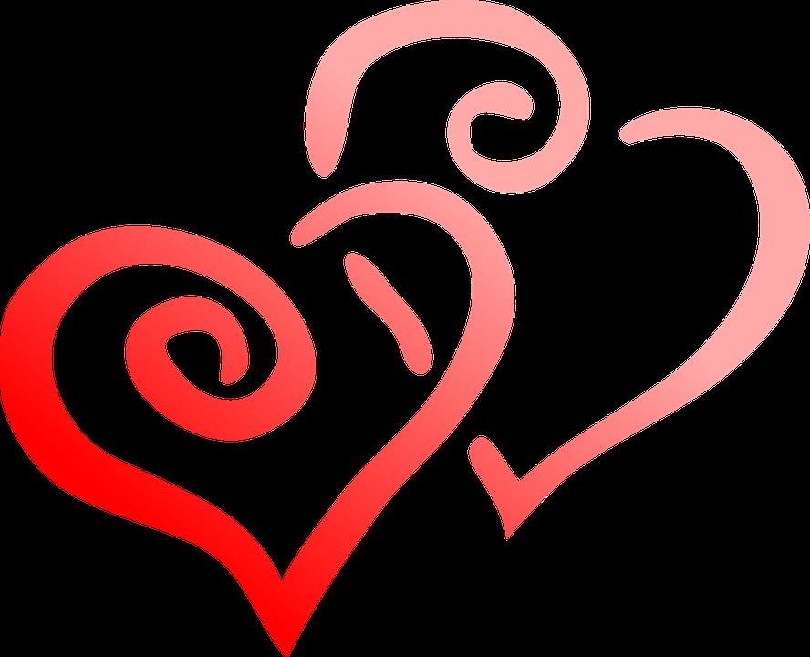Rojo Corazón El Amor.