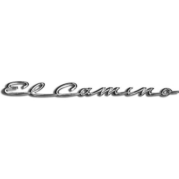 El Camino Fender Emblems, El Camino Script, 1959.