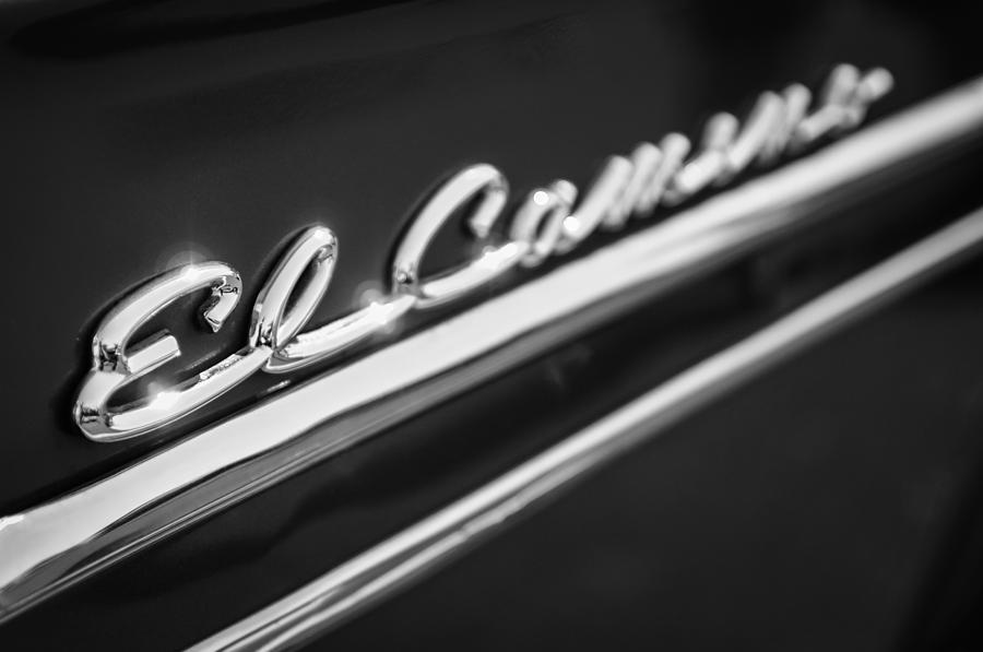1959 Chevrolet El Camino Emblem.
