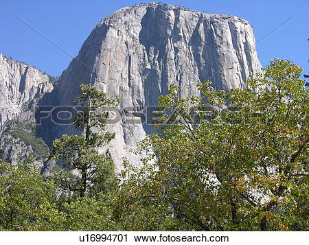 Stock Photography of El Capitan At Yosemite u16994701.