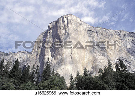 Stock Image of El Capitan Yosemite National Park u16626965.