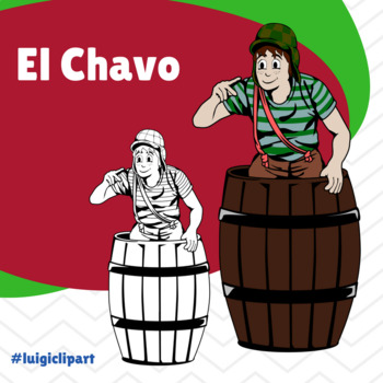 El Chavo del Ocho Clipart for Spanish Lessons.