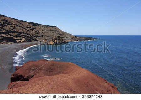 El Golfo Rocky Beach Stock Photos, Royalty.