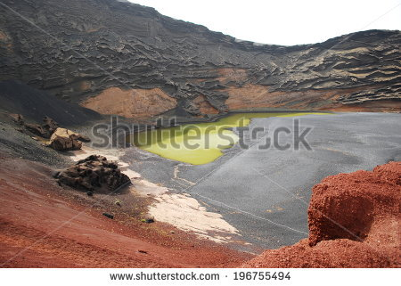 El Golfo Crater Stock Photos, Images, & Pictures.
