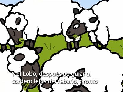 El lobo con piel de oveja Interactive Story.