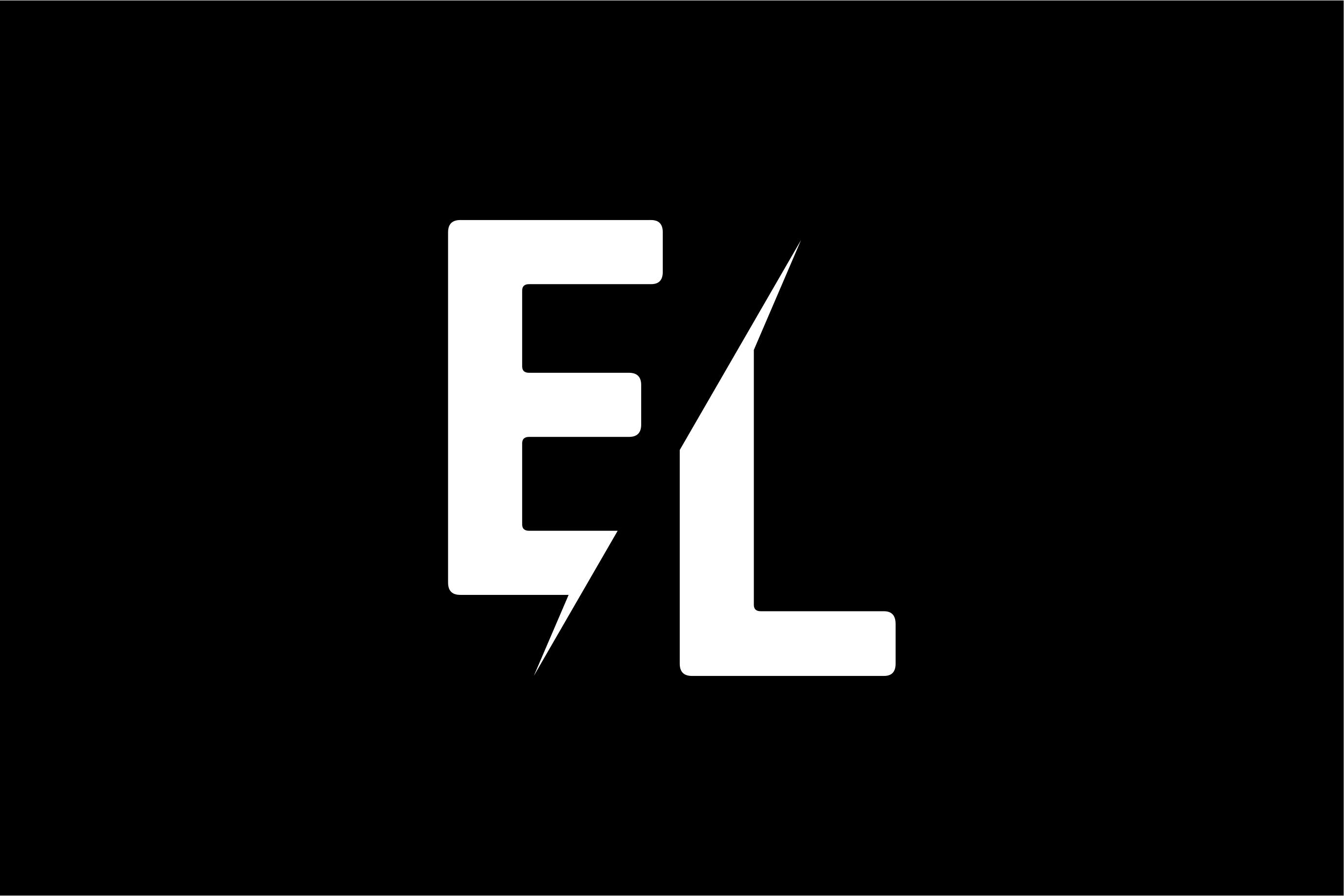 Monogram EL Logo.