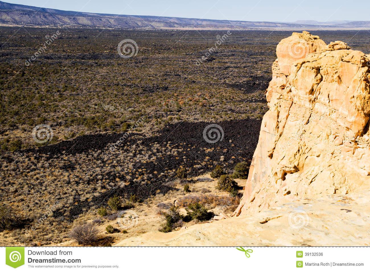 El Malpais National Monument Stock Photo.