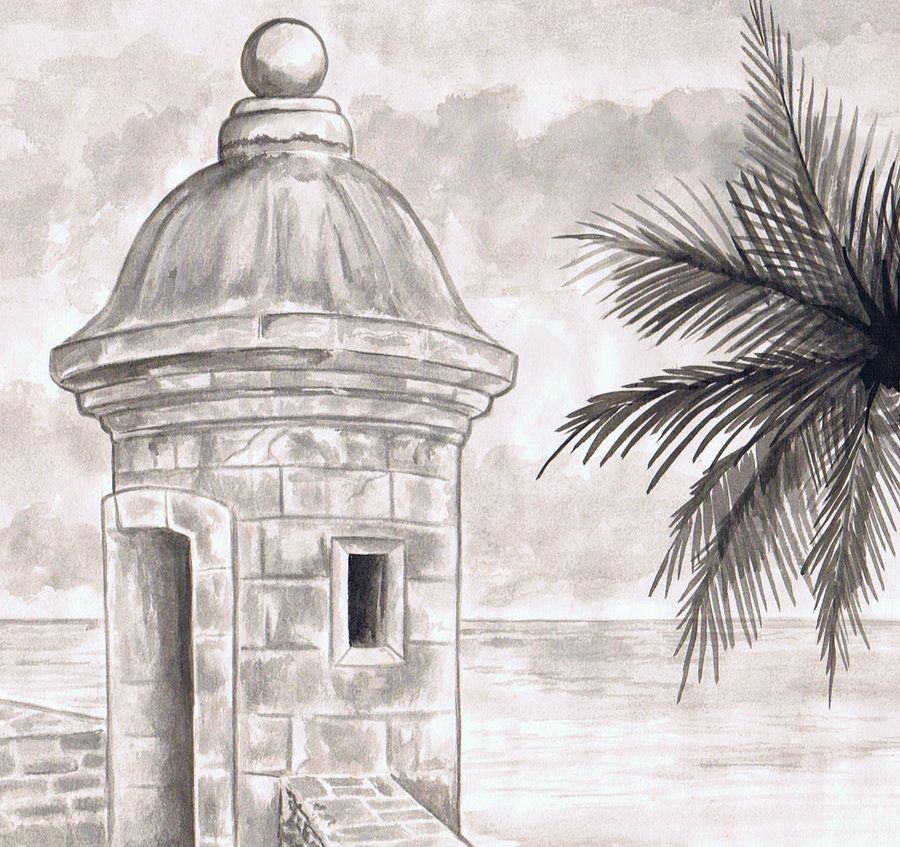 Sketches of El Morro.
