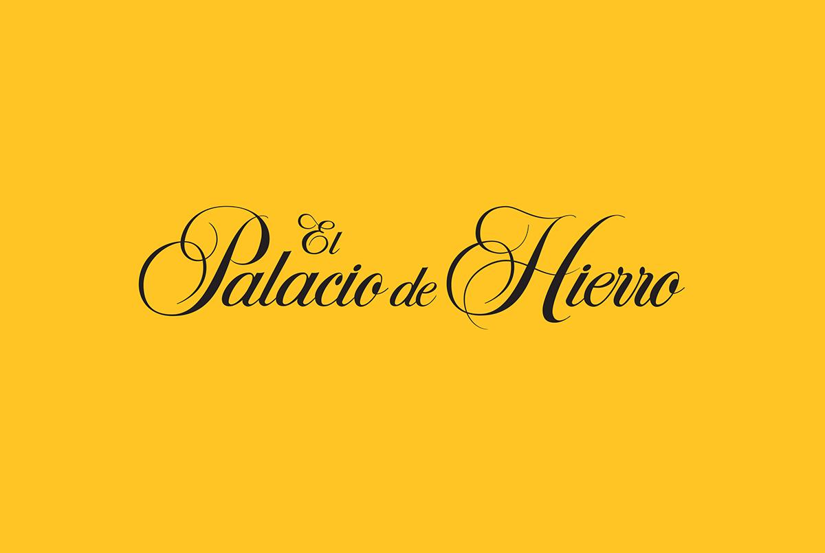 Palacio de Hierro on Behance.