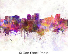 El paso skyline Stock Illustrations. 25 El paso skyline clip art.