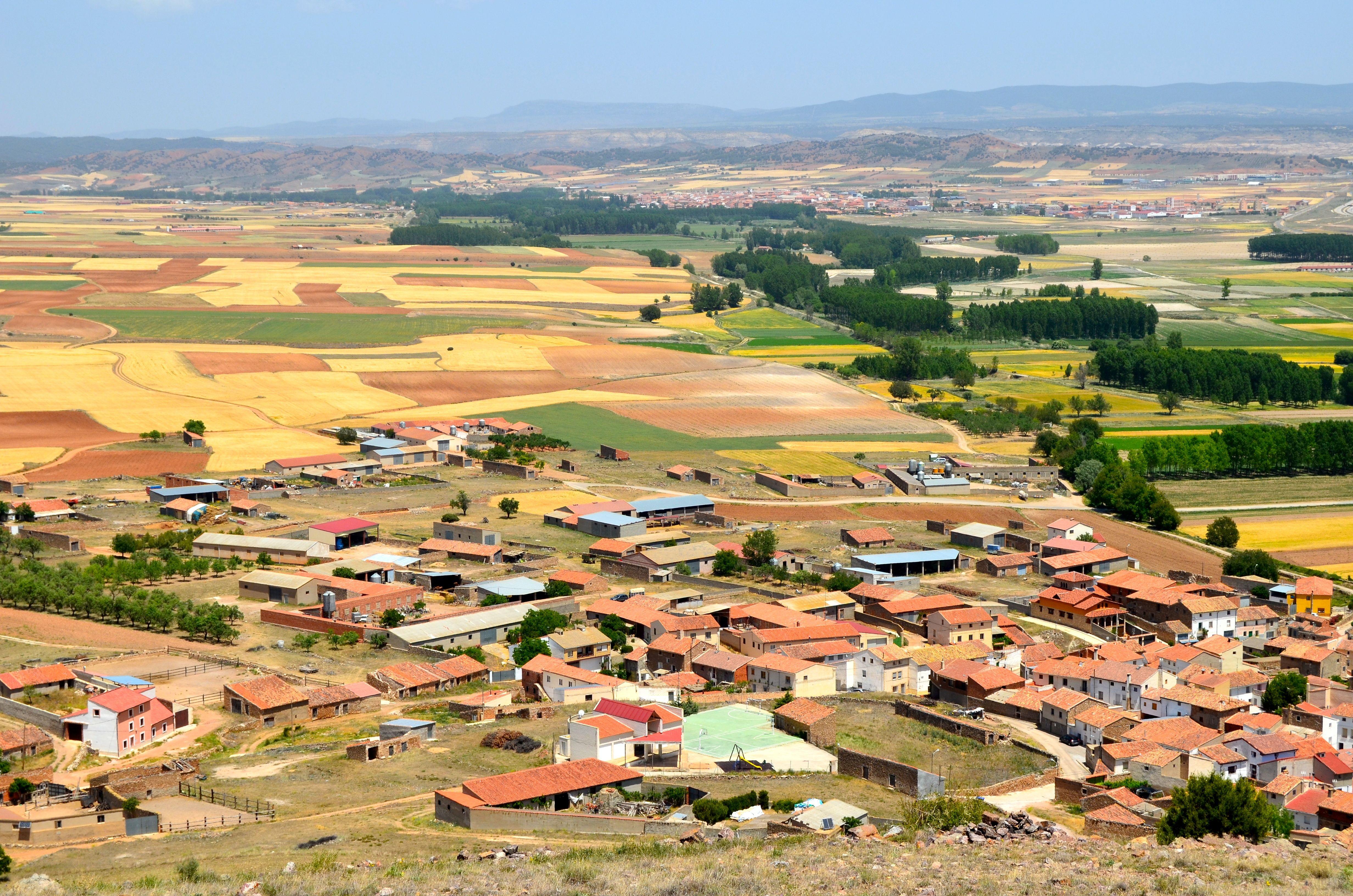 Mirador del Cerro de San Esteban en El Poyo del Cid.