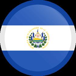 El Salvador flag clipart.
