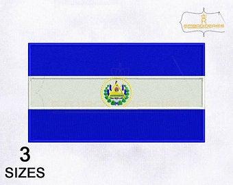 Salvadoran flag.