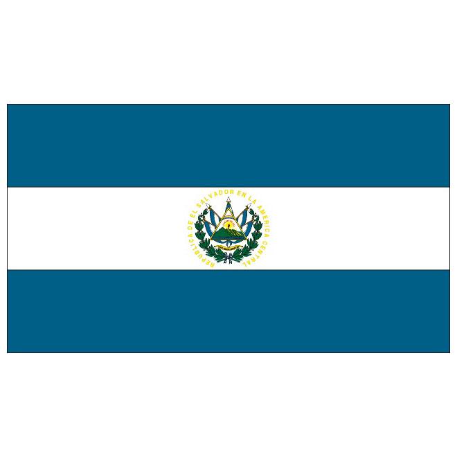 El Salvador flag.