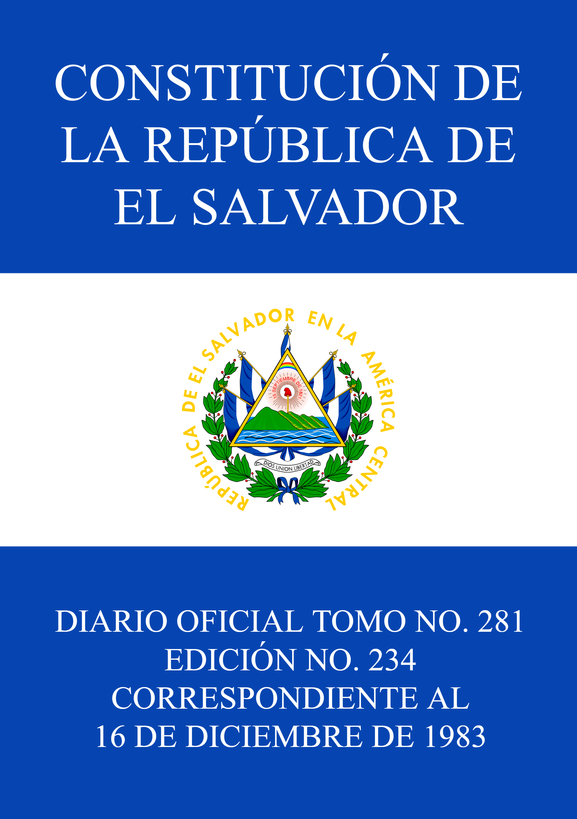 Constitution of El Salvador.