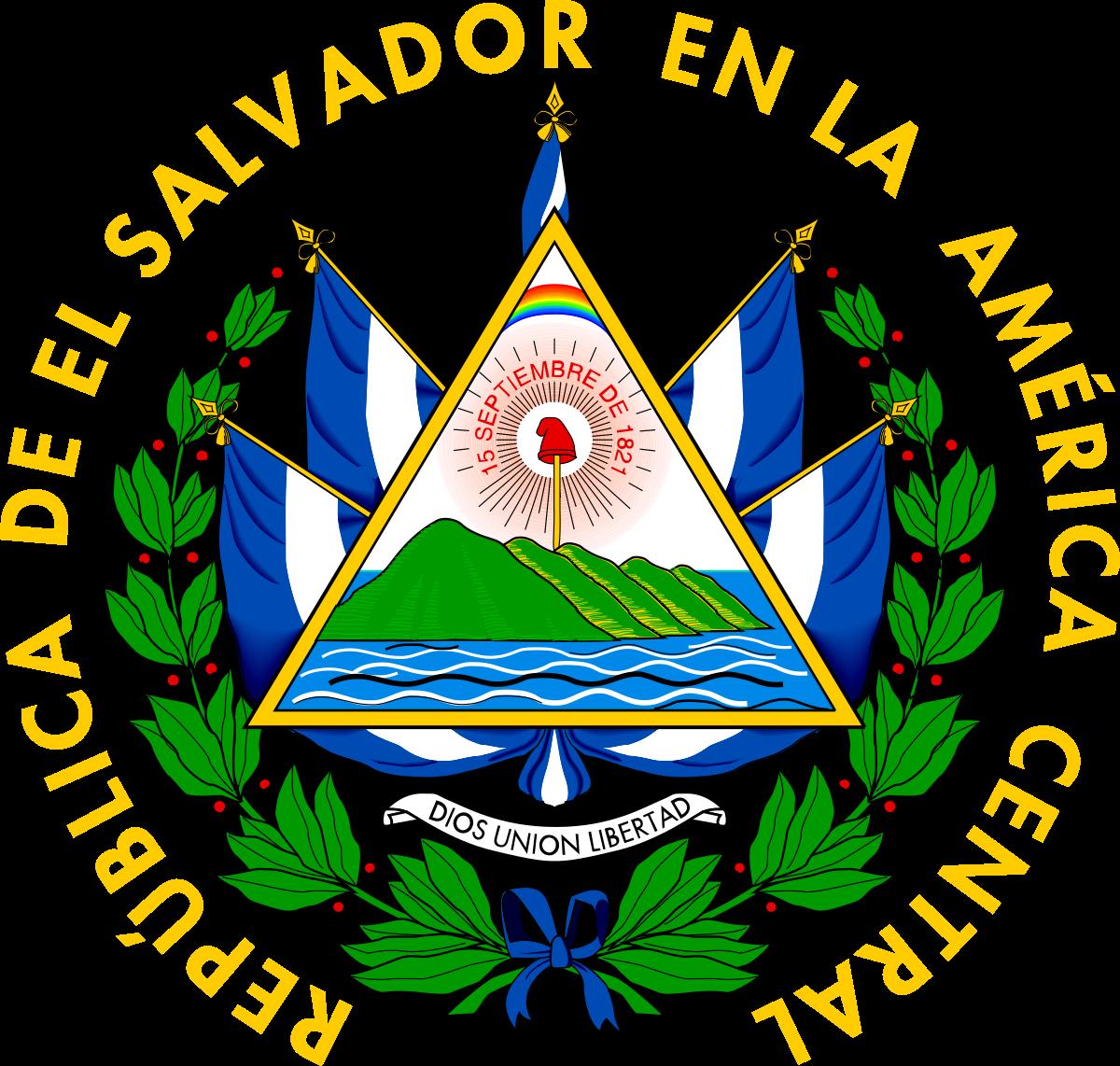 Departments of El Salvador.