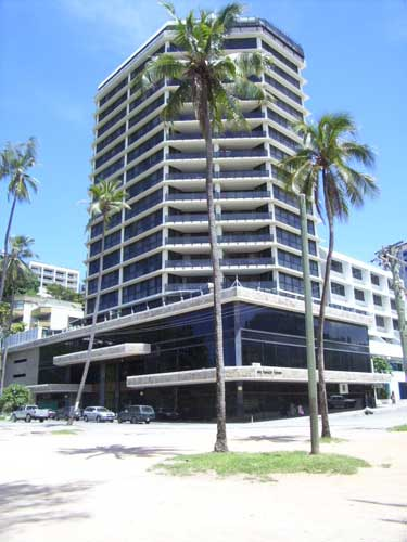 Ela Beach Tower, Port Moresby.