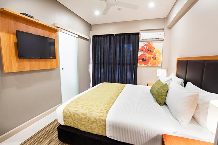 Accommodation. Ela Beach Hotel, Port Moresby, Papua New Guinea..