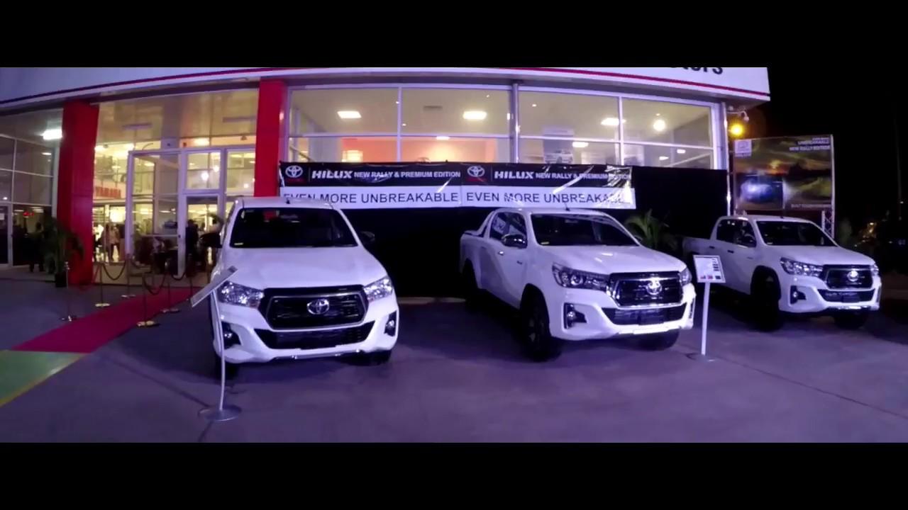 Toyota Hilux Safari and Premium Launch by Ela Motors PNG.