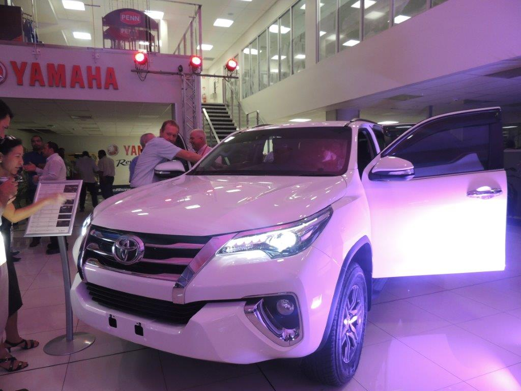 All New Toyota Fortuner.