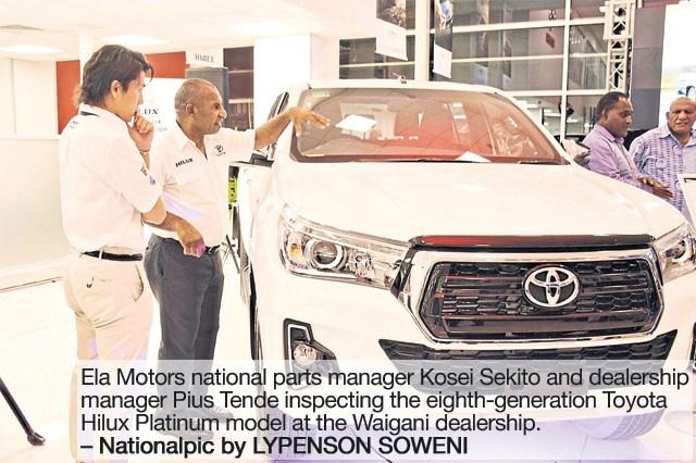 Ela Motors launches 'eighth generation' Toyota Hilux.
