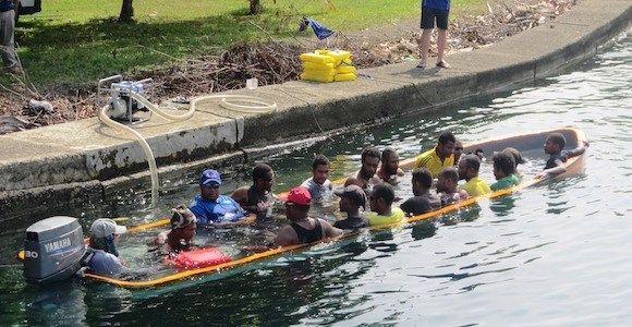 Yamaha's Papua New Guinea boat manufacturing setting new standards.