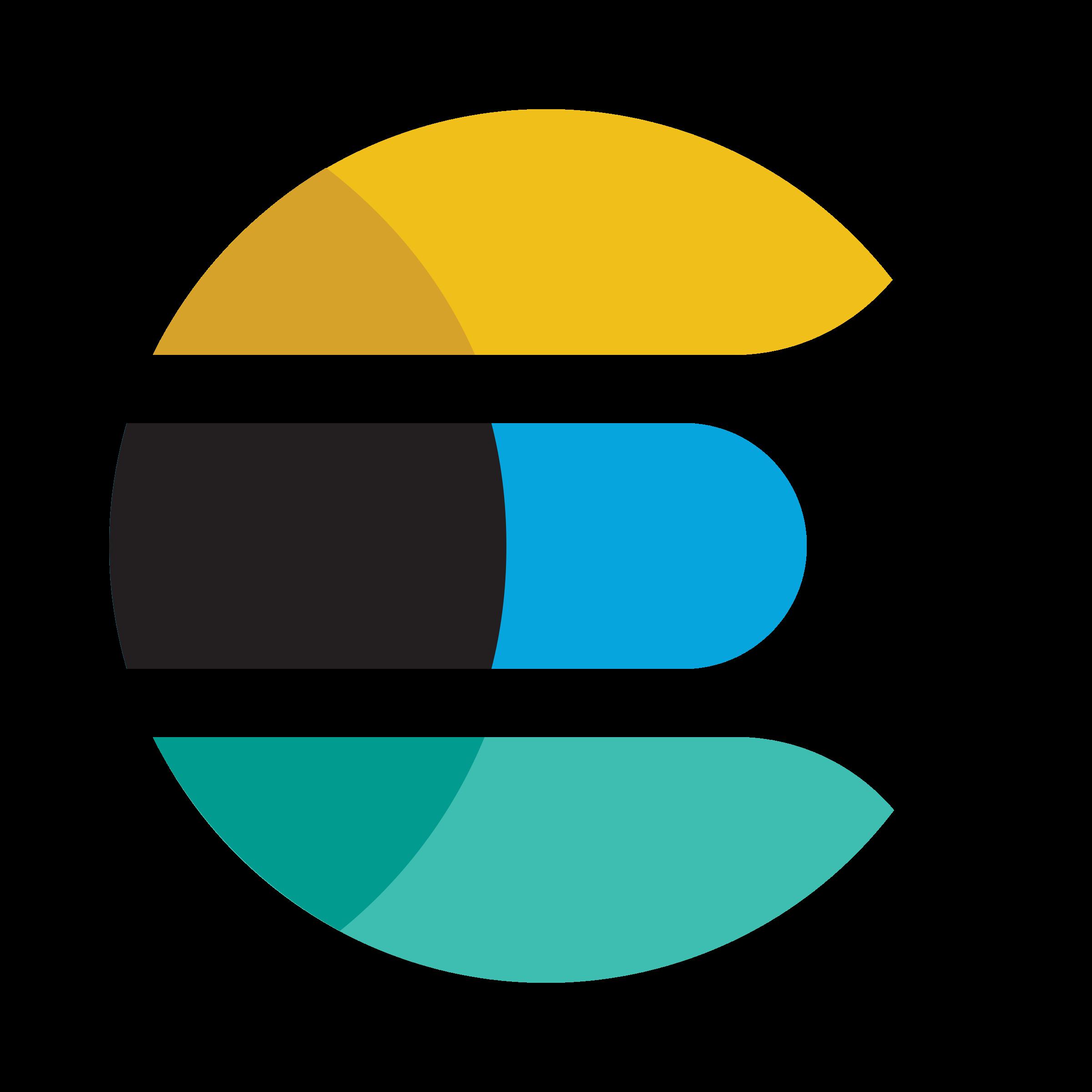 Elastic Elasticsearch Logo PNG Transparent & SVG Vector.