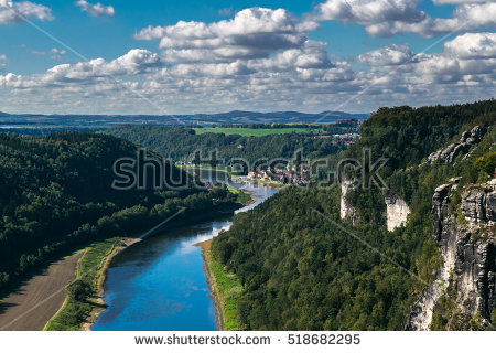 On The Elbe Stock Photos, Royalty.