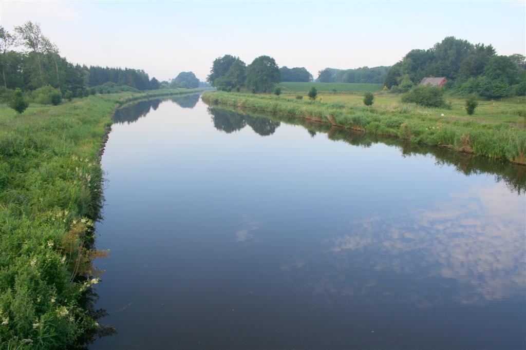 Schleswig Holstein Flüsse Karte.