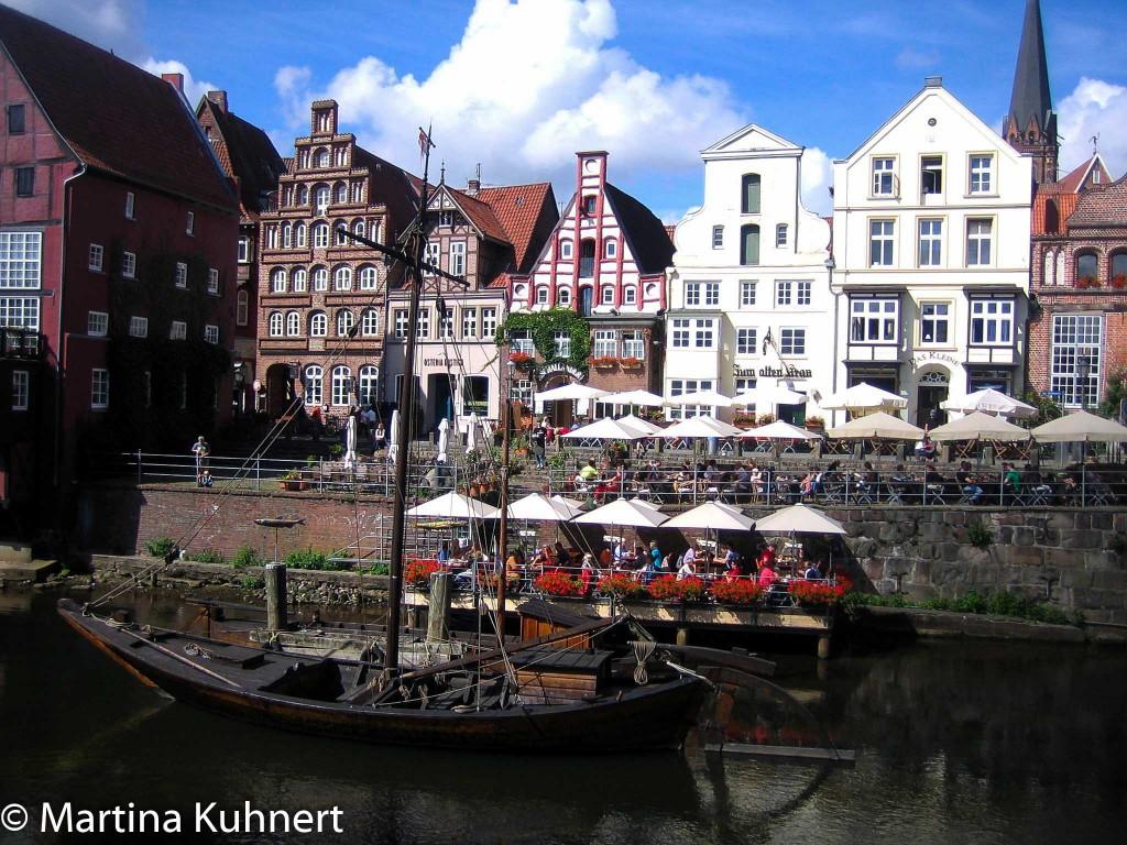 Historic salt route Lüneburg.