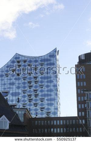 Hamburg Philharmonic Hall Stock Photos, Royalty.