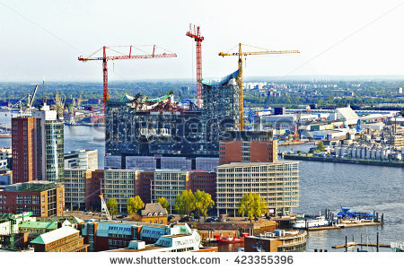 Elbphilharmonie Stock Photos, Royalty.