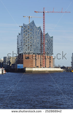 Hamburg Philharmonic Hall Stock Photos, Royalty.