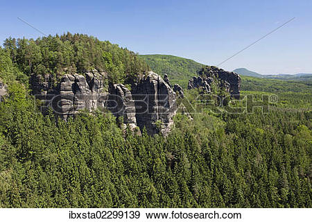 "Stock Photograph of ""Breite Kluft, literally wide gap, near the."