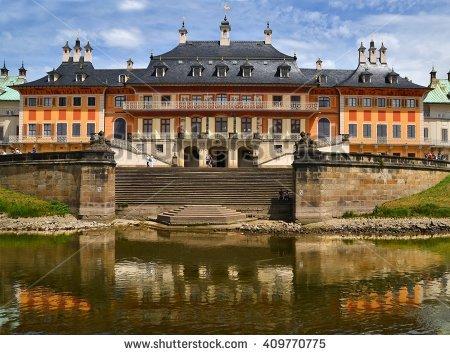 Pillnitz Stock Photos, Royalty.