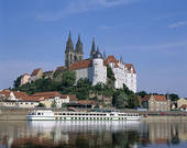 Picture of castle, Germany, Meissen, Sachen, Saxony, Europe.