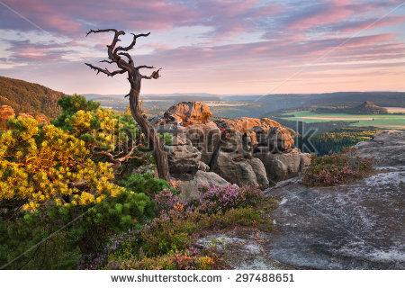 "elbe_sandstone_mountains"" Stock Photos, Royalty."