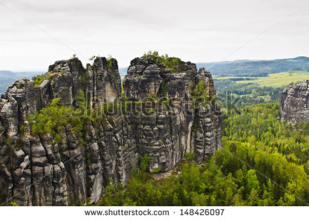 Elbe sandstone highlands Stock Photos, Images, & Pictures.