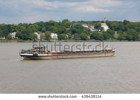 Inland Waterway Shipping Stock Photos, Royalty.