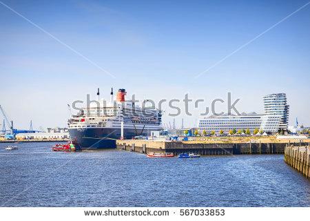 Queen Mary 2 Stock Photos, Royalty.