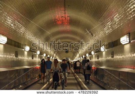 Pedestrian Tunnel Stock Photos, Royalty.